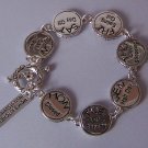 Moms Kitchen Rules Silver Tone Bracelet