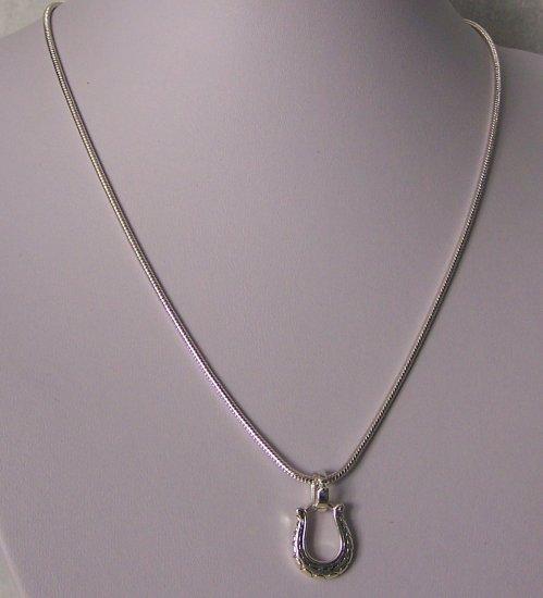 Horseshoe Horse Shoe Western Necklace