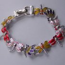 Dragonfly Spring Multicolor Bracelet