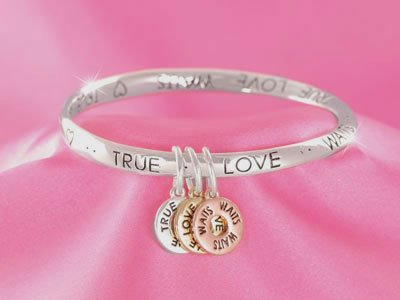 Tri Tone True Love Waits Bracelet