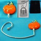 Orange Pumpkin Purse Handbag Caddy Holder Hanger