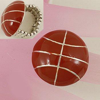 Brown Basketball Ring