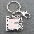 Pineapple Photo Picture Memory Holder Key Keychain