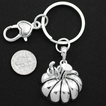 Pumpkin Key Keychain