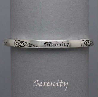 Serenity Prayer Religious Inspirational Bracelet