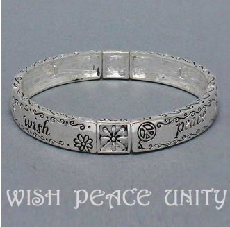 Religious Peace Wish Unity Bracelet
