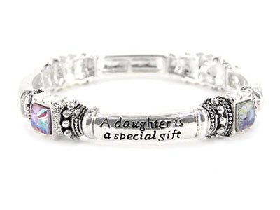 Clear Daughter is a Blessing Bracelet