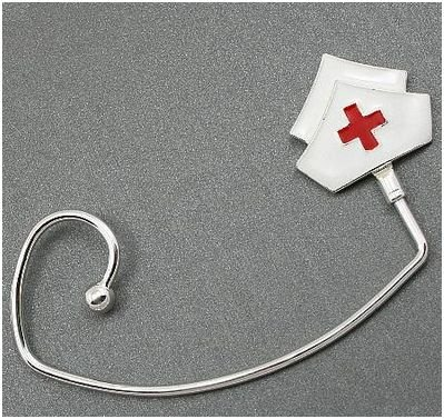 RN Registered Nurse Nurses Hat Handbag Purse Hook Caddy Holder