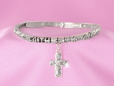 Faith Inspiration Religious Stackable Bracelet
