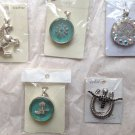 Wholesale Bulk Mixed Lot 5 Item Western Horse Spur Texas Boots Star Longhorn Rowel Necklace Pendant