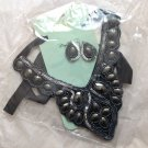 Wholesale Bulk Mixed Lot of 4 Black Ribbon Statement Bib Necklace