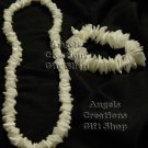 Handmade Shell Necklace and Bracelet Set