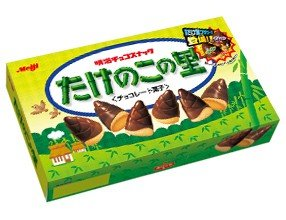 Takenoko No Sato Meiji Chocolate Bamboo Shoot Japan