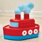 Bath tub toy Tooting Tugboat  2 yrs+  NEW in box