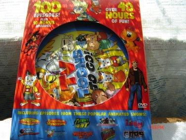 children's DVD cartoon classics   100 episodes on 10 discs NEW