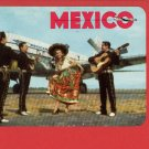 MEXICO AIRPLANE MEXICANA DE AVIACION VINTAGE POSTCARD