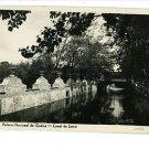 RPPC PORTUGAL CANAL DO JAMOR PALACIO NACIONAL DE QUELUZ
