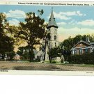 Great Barrington Massachusetts Berkshires 1947 Postcard