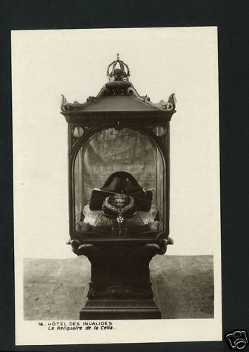 MUSEUM L'ARMEE PARIS RELIQUARY OF CELLA  POSTCARD