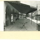 RPPC CALIFORNIA MUSIC COLONY VERANDA TERRACE POSTCARD