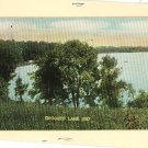 CROOKED LAKE IN INDIANA 1911 VINTAGE POSTCARD