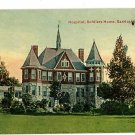 SANDUSKY OHIO HOSPITAL SOLDIERS HOME ALEXANDER POSTCARD