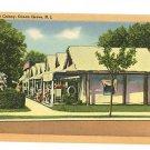OCEAN GROVE NEW JERSEY NJ TENT COLONY 1953  POSTCARD