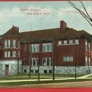 ANN ARBOR MICHIGAN PERRY SCHOOL  POSTCARD