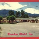 SALIDA CO COLORADO RAINBOW MOTEL  SEBRING POSTCARD