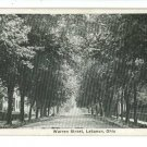 LEBANON OH OHIO WARREN STREET WENGER & CO  POSTCARD