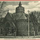 LOGAN OHIO PRESBYTERIAN CHURCH 1908  POSTCARD