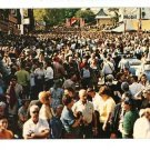 SUGARCREEK OH OHIO SWISS FESTIVAL CROWD  POSTCARD