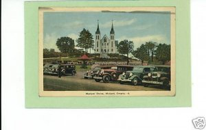 MIDLAND ONTARIO MARTYRS' SHRINE 1937 POSTCARD