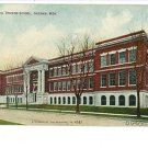 SAGINAW MI MICHIGAN MANUAL TRAINING SCHOOL POSTCARD