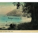 DEVIL'S LAKE WISCONSIN NO 1 SCENE POSTCARD
