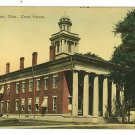FREMONT OHIO OH COURT HOUSE THOMAS GRUND  POSTCARD