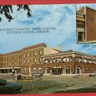 EXCELSIOR SPRINGS MO McCLEARY MINOR  HOSPITAL POSTCARD