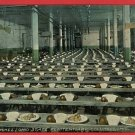 COLUMBUS OHIO O STATE PENITENTIARY JAIL DINING POSTCARD