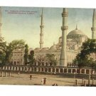 CONSTANTINOPLE TURKEY 1910 MOSQUE SULTAN AHMID POSTCARD