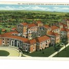 BOULDER COLORADO UNIVERSITY WOMEN'S DORM 1935 POSTCARD