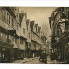 PETERGATE YORK ENGLAND UK VINTAGE POSTCARD SHOPS