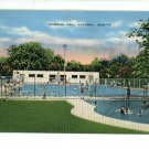 FOSTORIA OHIO OH SWIMMING POOL POSTCARD