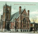 MUNCIE INDIANA IN  ME CHURCH 1909 POSTCARD KNOX