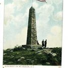MT BEACON NEW YORK MONUMENT UNDIVIDED BACK POSCARD