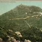 MT TAMALPAIS CALIFORNIA  SUMMIT VINTAGE POSTCARD