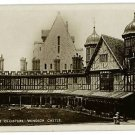 RPPC HORSESHOE CLOISTERS WINDSOR CASTLE LONDON ENGLAND