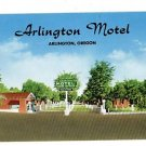ARLINGTON OREGON McCLASKEY'S MOTEL TRAILER PRK POSTCARD