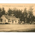 PETERSBURG VIRGINIA GREEN ACRES COURT CABINS POSTCARD
