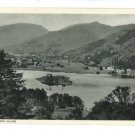 GRASMERE LAKE AND VILLAGE ENGLAND UK POSTCARD