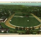 LANCASTER OHIO RACE TRACK FAIRGDS  POSTCARD CASES DRUG